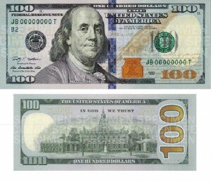 New $100 dollar bill