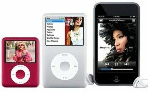 iPod Nano, iPod Classic and iPod Touch