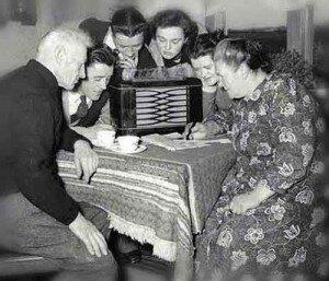 Radio Playing Mortgage Advertising