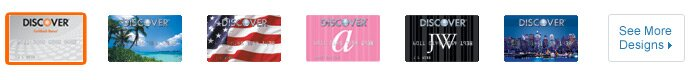 Discover Credit Card Designs